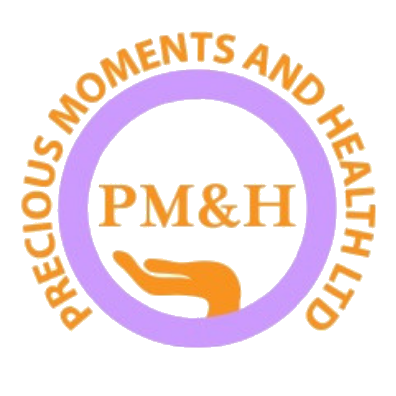 Precious Moments and Health Ltd Logo